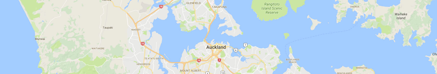 Map - Electricians Auckland Wide
