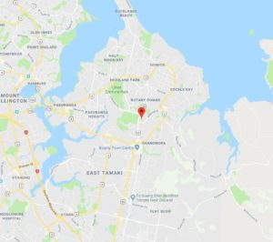 Electrician East Auckland Map