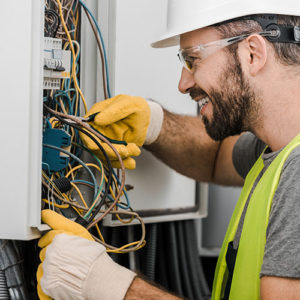 electricians north shore auckland working hard